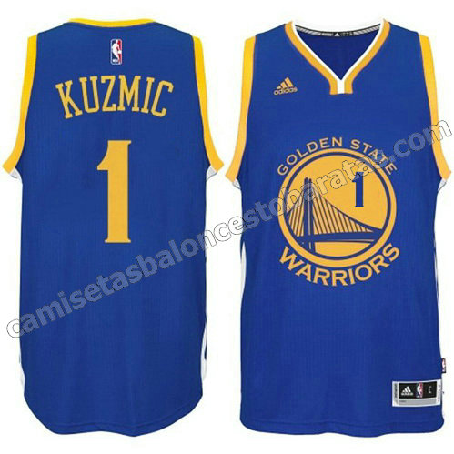 camiseta ognjen kuzmic #1 golden state warriors 2014-2015 azul