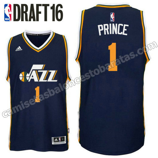 camiseta taurean prince 1 utah jazz draft 2016 armada