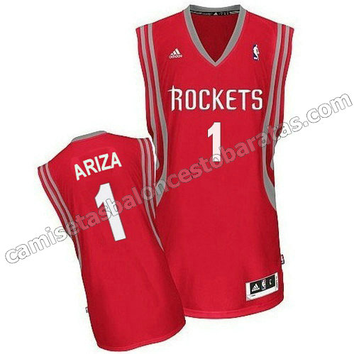 camiseta trevor ariza #1 houston rockets revolucion 30 roja
