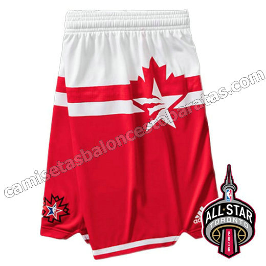 pantalones baloncesto nba baratas all star 2016 roja