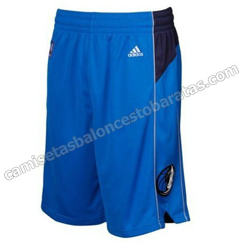 pantalones baloncesto nba baratas dallas mavericks azul