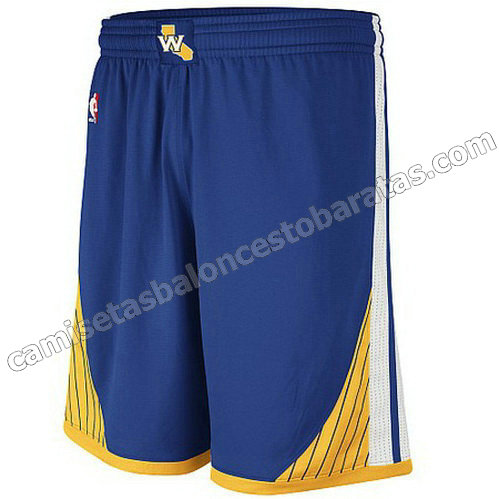 pantalones baloncesto golden state warriors swingman azul