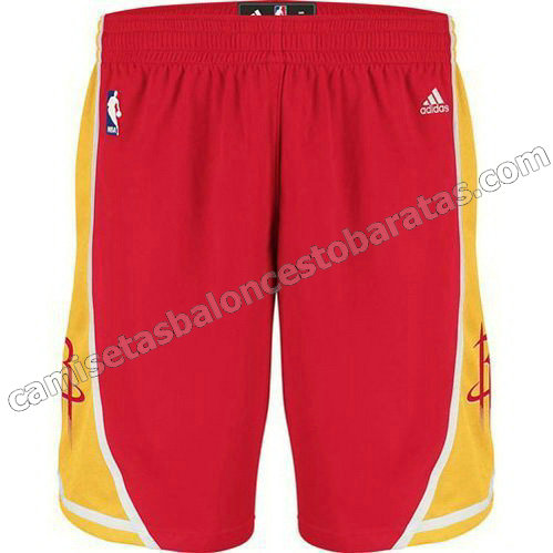 pantalones baloncesto houston rockets alterno roja