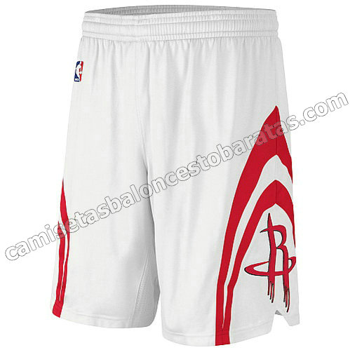 pantalones nba houston rockets revolucion 30 blanca