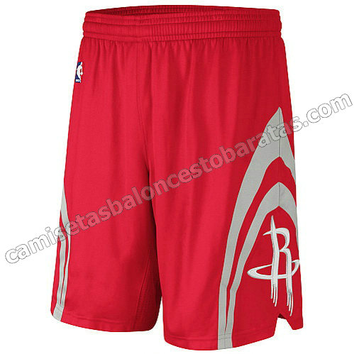 pantalones nba houston rockets revolucion 30 roja