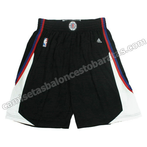 pantalones baloncesto los angeles clippers 2015-2016 negro