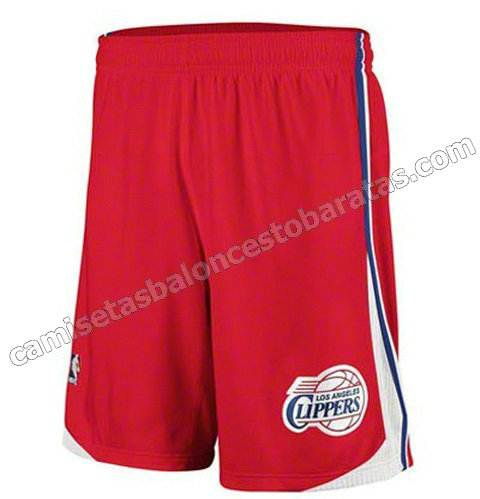 pantalones nba baratas los angeles clippers roja