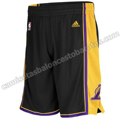 pantalones baloncesto baratas los angeles lakers negro