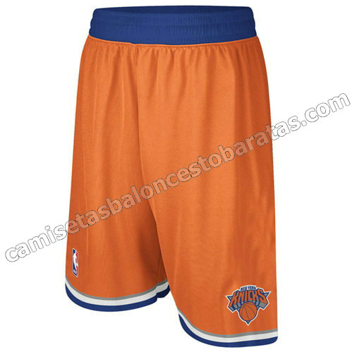 pantalones baloncesto nba baratas new york knicks naranja