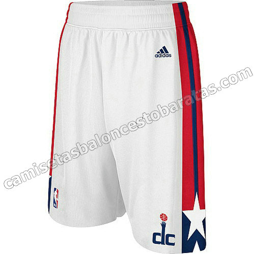 pantalones baloncesto baratas washington wizards blanca