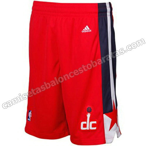 pantalones nba baratas washington wizards roja
